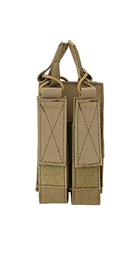 8FIELDS Double Magazine Pouch MP5/MP7/MP9 Magazin Tasche Airsoft Doppelmagazin Coyote