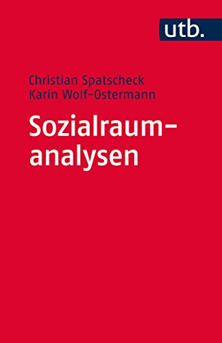 Sozialraumanalysen: Ein Arbeitsbuch für soziale, gesundheits- und bildungsbezogene Dienste
