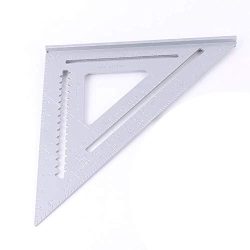 """Lineal Englisch System Technologie Klar Oberfläche 12 \"""" Arbeits Quadrat Smooth Aluminium Legierung Dreieck Tragbar Langlebig"""