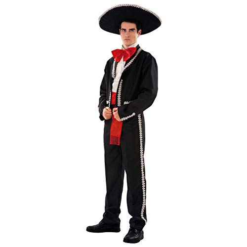 Mexican Man Mariachi Costume.