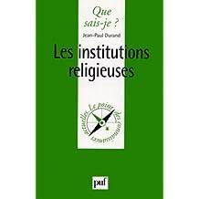 Les Institutions religieuses