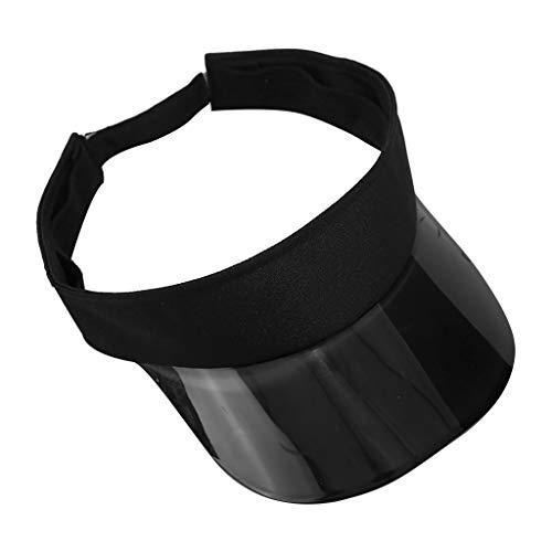 FRAUIT Visier Damen Einfache Kappe mit leerem Zylinder Damen und Herren Curved Visor Cap - Unisex Sonnenblende Sonnencreme