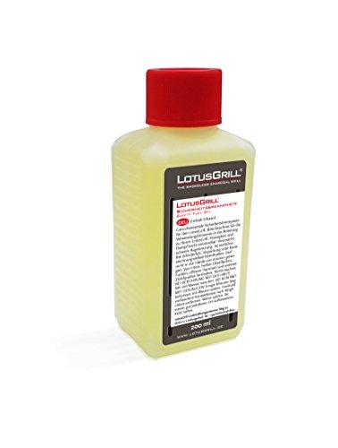 LotusGrill Buchenholzkohle 2,5 kg Sack inkl. LotusGrill Brennpaste 200 ml, beides entwickelt für raucharmes Grillen mit dem LotusGrill