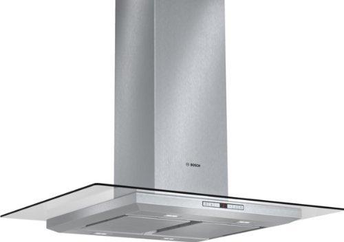 Bosch DIA098U50 Serie 8 Inselhaube / 90 cm / Wahlweise Abluft- oder Umluftbetrieb / edelstahl