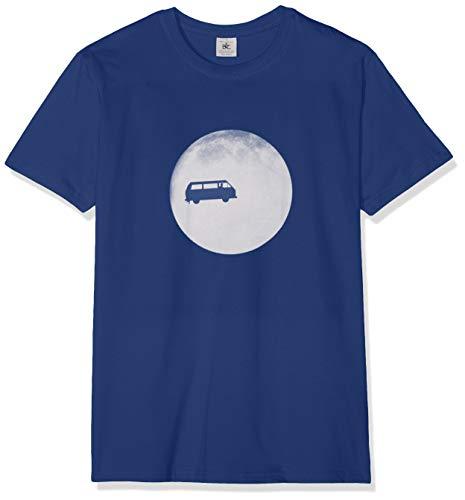 Texlab Full Moon Bulli T3 - Herren T-Shirt, Größe L, Marine