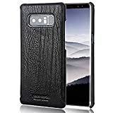 Samsung Galaxy Note 8 Pierre Cardin Leather Hard Back Cover Case For Samsung Galaxy Note 8 (6. 3 Inch) (Black)- By GIZMOS TECH