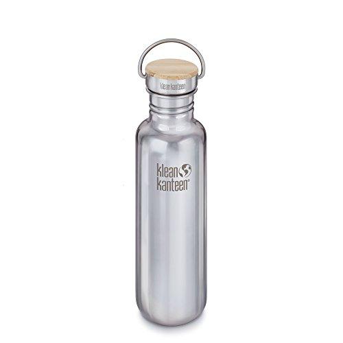 Klean Kanteen Edelstahlflasche Flasche Reflect Poliert, Silber, 0.8 Liter, 100585