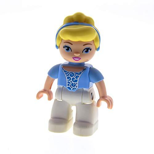Frau Prinzessin Cinderella Hose weiss Bluse hell blau Haare blond Set 10596 6154 6153 47394pb149 ()