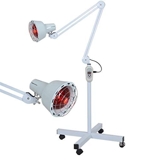 FMEZY 275 Watt Infrarot Wärme Lampe Ständerprofessionelle Licht Schmerzlinderung Muskelhaut Akupunktur Therapie Schönheitssalon Mit Rädernbirne