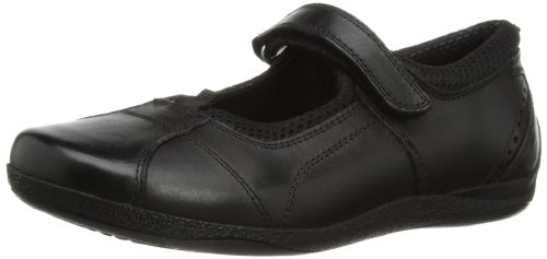 Hush Puppies Cindy Snr, Girls' Mary Jane, Black (Black), 4 UK (37 EU)