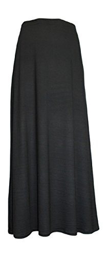 Ozmoint - Falda - para mujer negro, 24-26