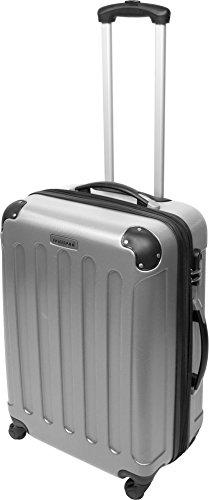 normani ABS Hartschalen Koffer Set Ausführungen Farbe Silber - 2