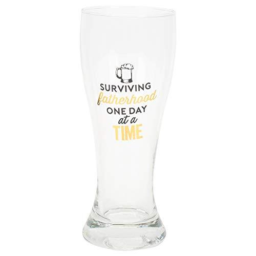 Überleben Vaterschaft One Day At A Time 18Unze Klar Pilsner Bier Glas (Billig-stuffers Männer Für)