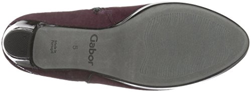 Gabor Shoes Comfort Basic, Stivaletti Donna Rosso (New Merlot Ldf)