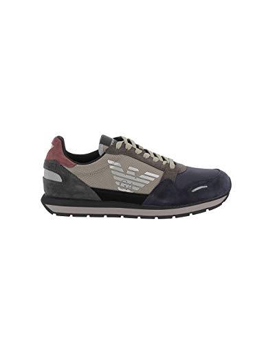 ARMANI UOMO Sneakers con Logo Laterale Mod. 45