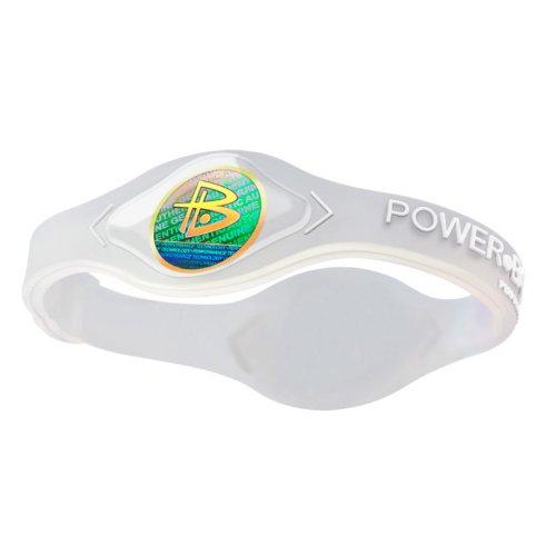 Power Balance / GWSA09BK00WTLP Bracelet silicone Blanc transparent