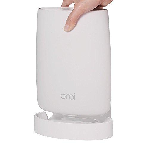Orbi Wi-Fi-System Wandhalterung, Wandhalterung Halterung Stnder Halter fr NETGEAR RBK50-100UKS / RBK53-100UKS Orbi ganze Home Wi-Fi-System,Verbesserte, Perfekte Unified, Wei (1 Pack)