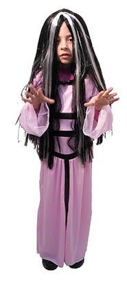 morticia Kind Kostüm Größe S (Morticia Kostüm Zubehör)