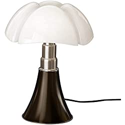 Martinelli Luce 620/J/T/MA MINIPIPISTRELLO 9W LED Touch-Tete DE NEGRE, Acier inoxidable, 9 W