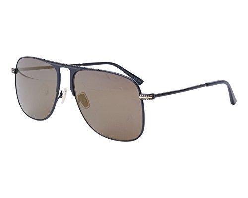 Sonnenbrillen Jimmy Choo DAN/S BLACK/GOLD Herrenbrillen