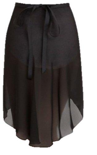 capezio n276 wrap Röcke schwarz med/Oberkörper-Stützbandage, Größe L (Capezio Wrap)