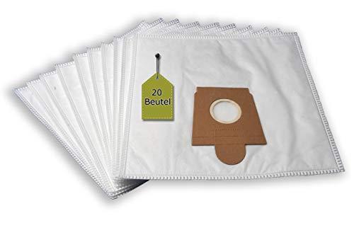 eVendix Staubsaugerbeutel passend für Kärcher VC 6 Premium | 20 Staubbeutel + 4 Mikro-Filter | ähnlich wie Original-Beutel: 6.904-239.0