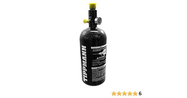 Tippmann 0 8l 48ci Hp Tank Flasche Fülldruck 3000 Psi Mit Regulator Groß Sport Freizeit