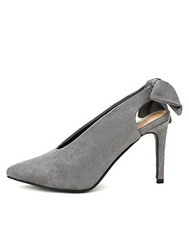 Cendriyon Escarpins Gris Rebecca Mode Chaussures Femme