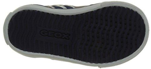 Geox B Kilwi Boy, Scarpe Primi Passi Bimbo 0-24 Grigio (Grey/Navy C0665)