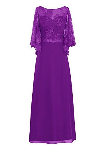Dresstells, robe de cérémonie, robe de mère de mariée, robe pour les mères Pourpre