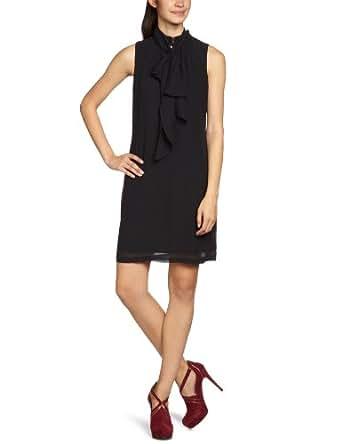 MEXX METROPOLITAN Damen Kleid (knielang), 6BKTD004, Gr. 32, Schwarz (1)
