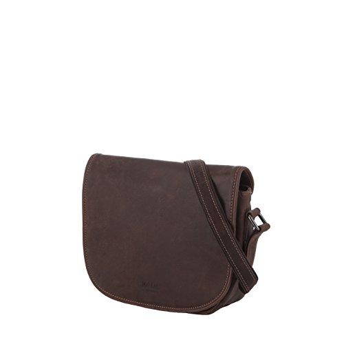 Rada Nature Überschlagtasche 'Devenport' echt Leder Handtasche in verschiedenen Farben Khaki