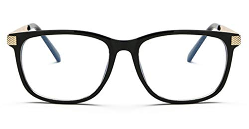 PANGHU Unisex-Erwachsene Klassische Klare Linse Brille Farbige Brillenfassung Brillengestell