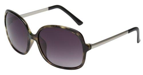 Schöne Marken Sonnenbrille für Damen von Burgmeister mit 100% UV Schutz | Sonnenbrille mit stabiler Polycarbonatfassung, hochwertigem Brillenetui, Brillenbeutel und 2 Jahren Garantie | SBM108-361
