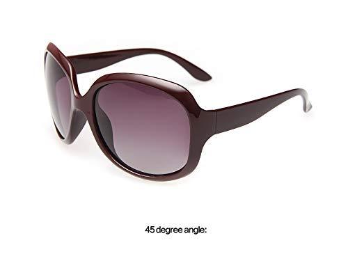 Wghz Ultraleichte Augenschutz Shade Multi Übergroße Polarisierte Sonnenbrille Frauen Markendesign Retro Sonnenbrille Brillen
