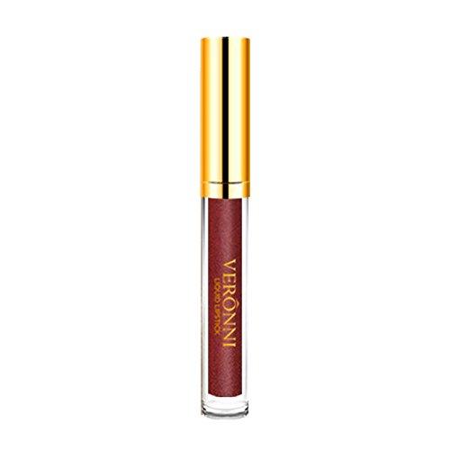 10 couleurs pour femmes Magic Glitter Flip Rouge à lèvres Flip Mat Pearl Gloss Brillant trada Long Lasting imperméable Brillante Lip Gloss cosmétiques Lèvres