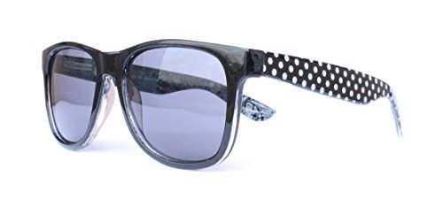 57er 60er Jahre Retro Vintage Sonnenbrille Sommerbrille Clubmaster Style Rockabilly Trend 2017 2018 Mode Fashion Fashionbrille Beach Club Designer Brille punkte (Mode Für Jahre Männer 60er)