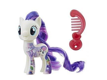 OTTO My Little Pony Movie - Poupee - Poney Tout sur Sweetie Drops - Cheveux Long avec Peigne - Petit Poney Beige