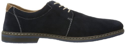 Rieker Diego/P, Chaussures à lacets homme Bleu (Pazifik/amaretto / 16)