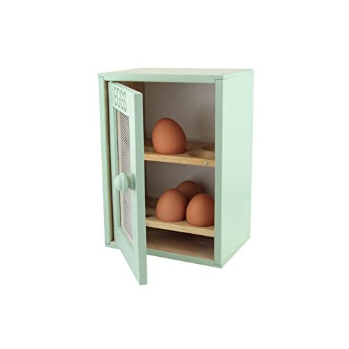 Apollo Wood Egg Cabinet - Mint Green