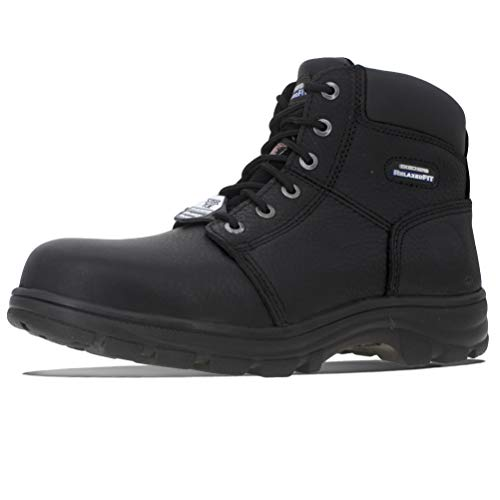 Skechers For Work Whit Memory Foam - Scarpe da Lavoro Uomo - Antinfortunistiche (42)