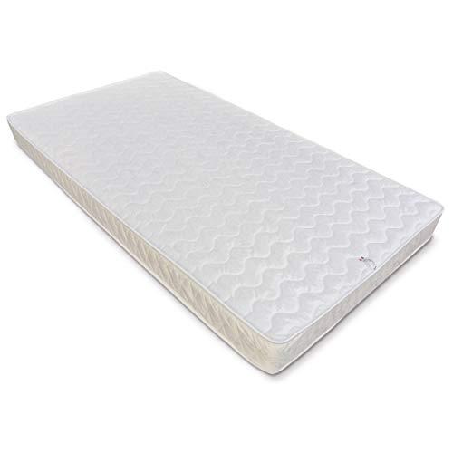 Baldiflex ,  materasso una piazza e mezzo easy altezza 18cm 120 x 190 cm , cotone ortopedico, rivestimento in cotone., poliuretano