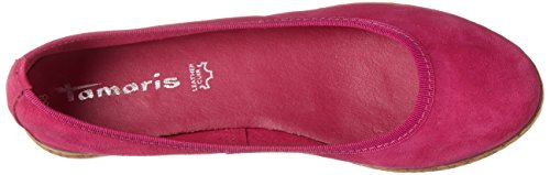 Tamaris Ladies 22117 Ballerine Chiuse Rosa (fuxia 513)