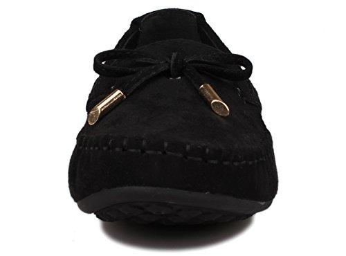 FangstoBoat Shoes - A collo basso donna Nero