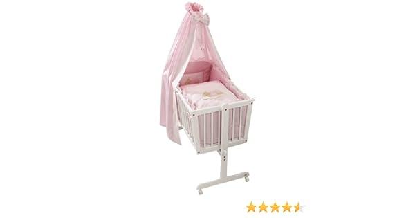 Easy baby komplettwiege weiß sleeping bear rose: amazon.de: baby