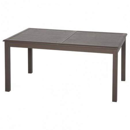 Table extensible rectangulaire Azua Alu 8/12 places Tonka