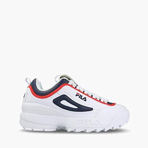 Fila Herren Disruptor CB Low 1010575-01M Sneaker, Weiß (White), 43 EU