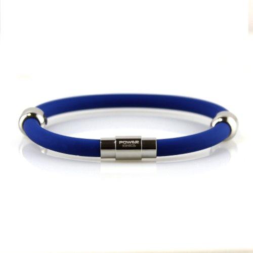 Power Ionics Tourmaline Round Magnetic Bracelet Plus-Black-22cm Power Ionics Bracelet Armband Powerarmband PowerIonics Ionenarmband Energie Wristband Magnet Armband 3000 Ions Smart Sports Bracelet Wristband PT028 (blue)