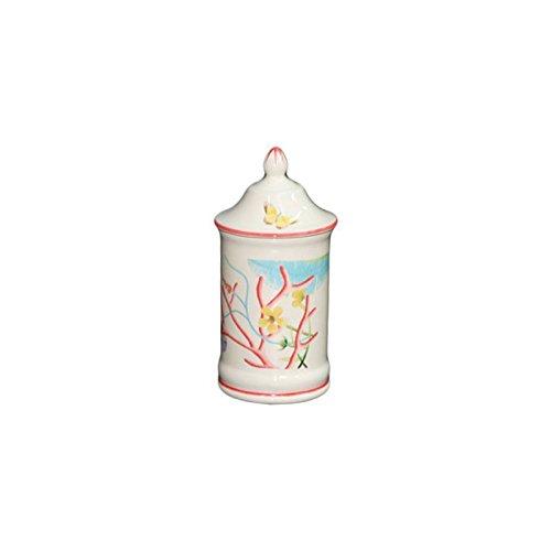 Faïencerie de Niderviller Pot Fleurs de Corail faïence H15,5cm
