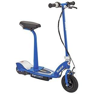Razor E100S Scooter eléctrico con asiento–azul.